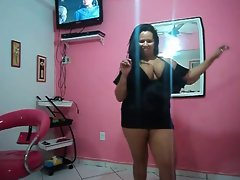 Mummy Obese Brazilian Dancing - Really Lewd