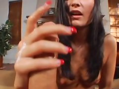 Attractive Handjob Slutty girl