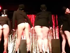 Big Bottoms Burlesque Dance by English Commonwealth Light-haired