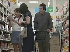 Sensual slutty mom can't resist a fuck in the supermarket