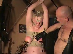 attractive mature slave tortured 2