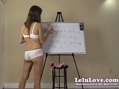 Lelu Love-March 2014 Cum Schedule