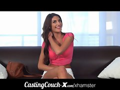 CastingCouch-X Seductive teen banged first time on cam for $
