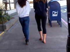 Thick and Skinny Booties Walking