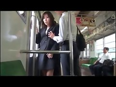 Ride on the Train with Kinky Jap Lady