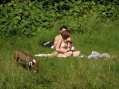 Spy on Filthy Couple In Nature sick or alluring