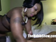 chocolate thicke ferrari blaque banged by monster penis bbc