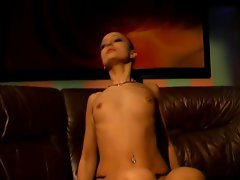Sensual russian chick office extasy