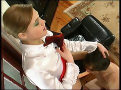 Rus Tempting blonde with Strapon 6