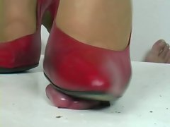 High heel heidi Jenny pinkish pumps shoejob