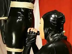 rubber doll stroking fakeman