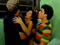 Made in Brazil 1985 (Threesome erotic scene) MFM