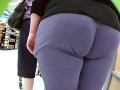 White thick dirty ass shopping