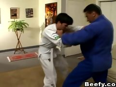 Meaty Gay Karate Teacher Fuck His Student
