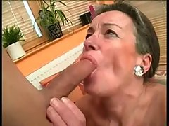 Very hairy Granny Drilled By 19 years old Pecker BVR