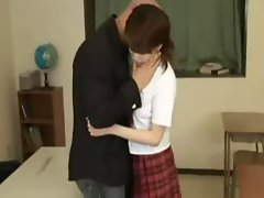 Korean Schoolgirl screwed her Teacher