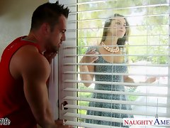 Loveliness slutty wife Dani Daniels gets nailed wild