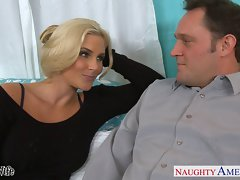 Attractive dirty wife Phoenix Marie gets pinky vulva banged