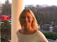 Sensual light-haired girlie pleasures a penis