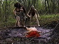 Bikini Slutty chicks on Dinosaur Planet Mud episode
