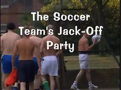Soccer team jack off
