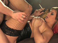 Ashley Downs smoking fetish