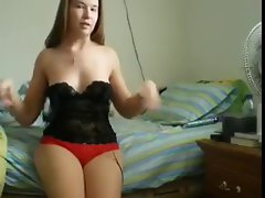 Dream slutty wife masturbates for hubby