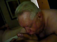 Another Filthy Grandpa Blow Job