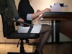 Sensual Secretary Filthy Hidden Cam
