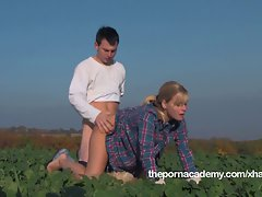 Farmers corn field sex
