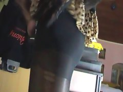 transvestite play with high heel shoe fetish cumming his load