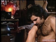 Tracy Adams caresses and bangs Ron Jeremy in fourway