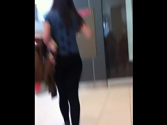 Narrow Luscious teen In Leggings