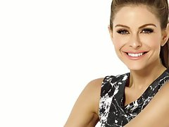 Maria Menounos Jerk off challenge