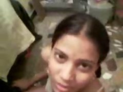 Homemade solo video of a Sensual indian gf