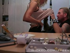 Wicked - Jessica Drake gets banged by biker