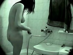Luscious Cutie Caught In Shower