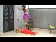 Training for Fakir Execution (Hard Trampling Jumping)
