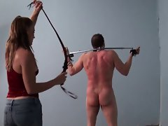 Epic whipping by mistress Molly