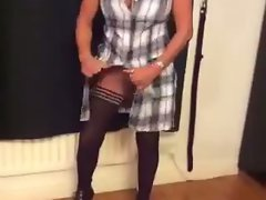 Amateur mum slutty wife flashing hooters in stockings sexymilfsue