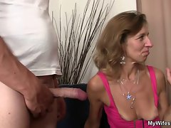She sees her man banging not slutty mom in law