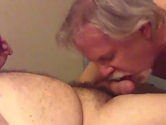 Daddy cock sucking