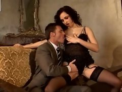 luxury escort teases and bangs him
