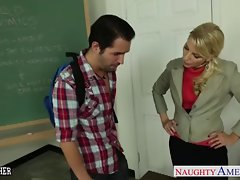 Sexual teacher Ashley Fires banging