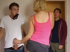 Randy chicks rubbing phallus secretly GRCS clip 003