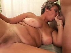 Attractive Chesty Experienced Dick sucking