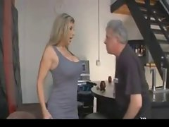 Big titted Tempting blonde Mistress 1