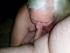 Granny dick sucking