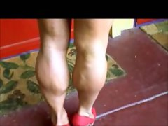 Brenda Smith muscular calves