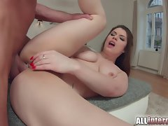 All Internal Brutal backdoor for English pornstar Lucie Love